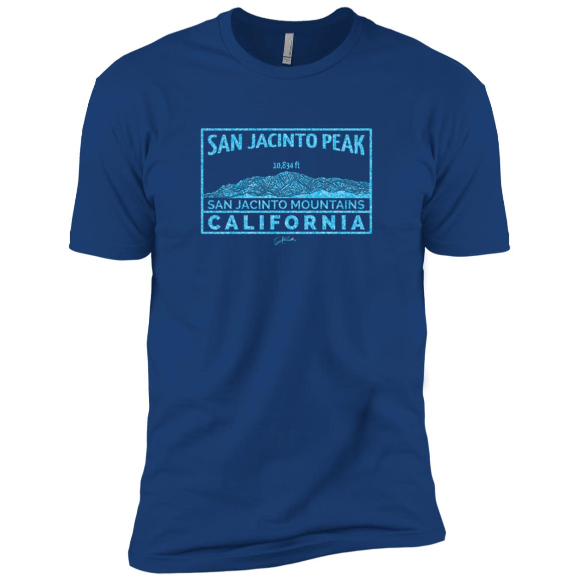 JCombs San Jacinto Peak, California Men Short Sleeve T-Shirt