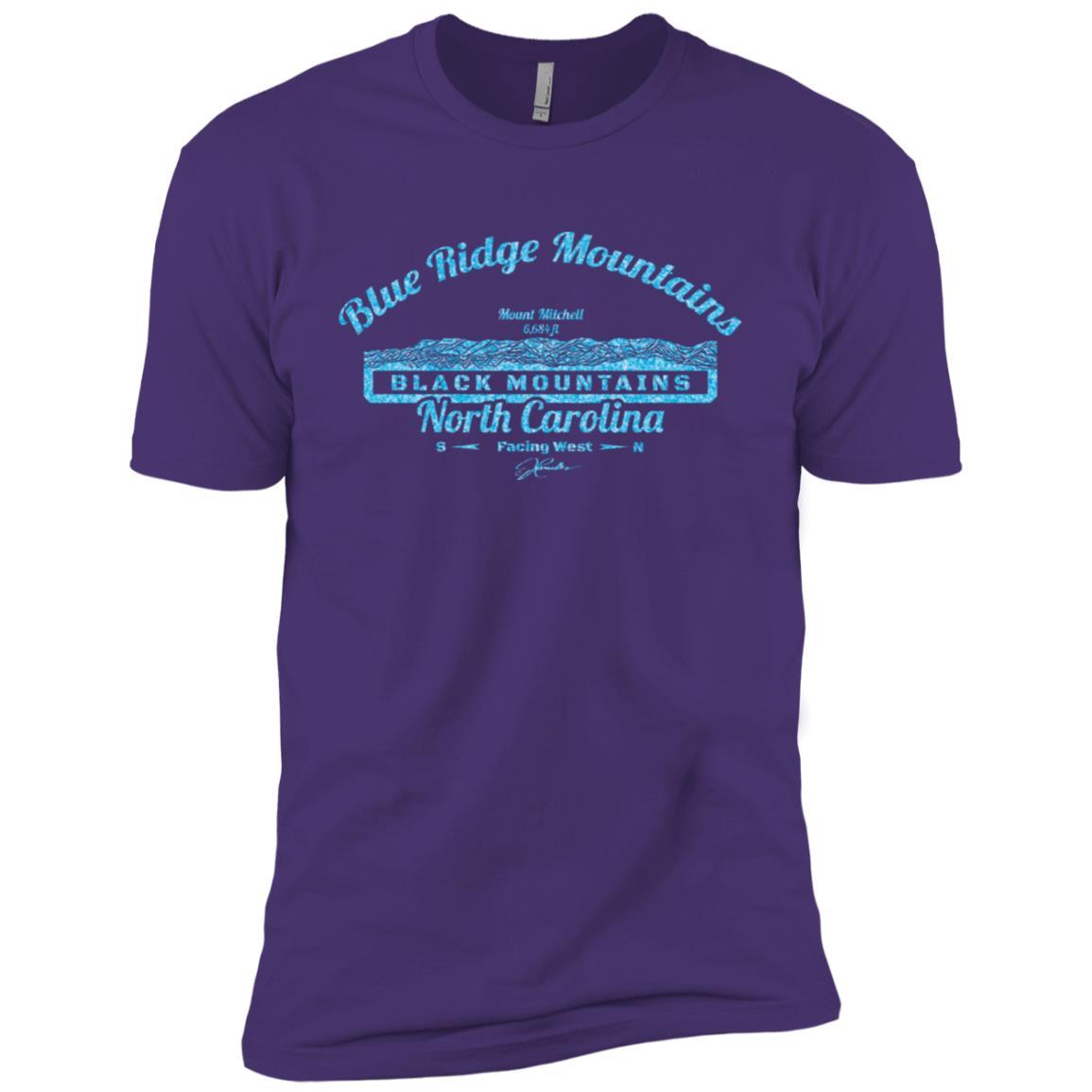 JCombs Mount Mitchell, Blue Ridge Mountains, Nc Men Short Sleeve T-Shirt