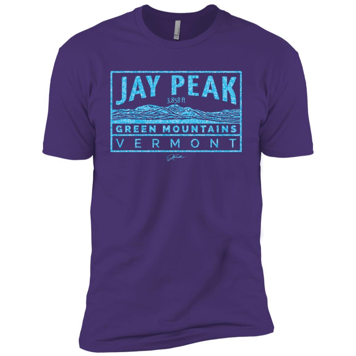 JCombs Jay Peak, Green Mountains, Vt Men Short Sleeve T-Shirt