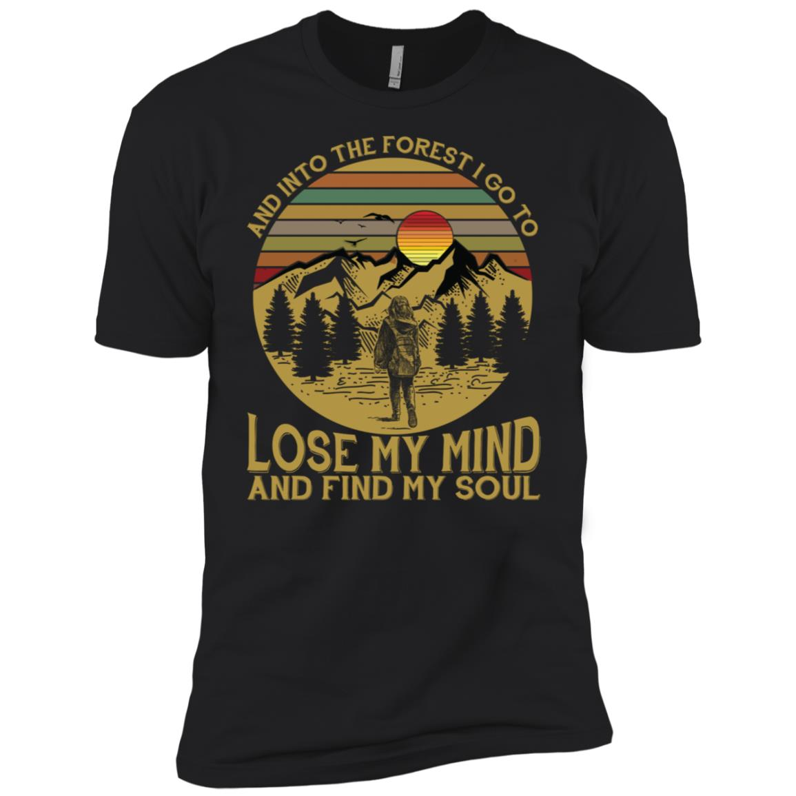 Into The Forest I Go To Lose My Mind & Find My Soul Ls Men Short Sleeve T-Shirt