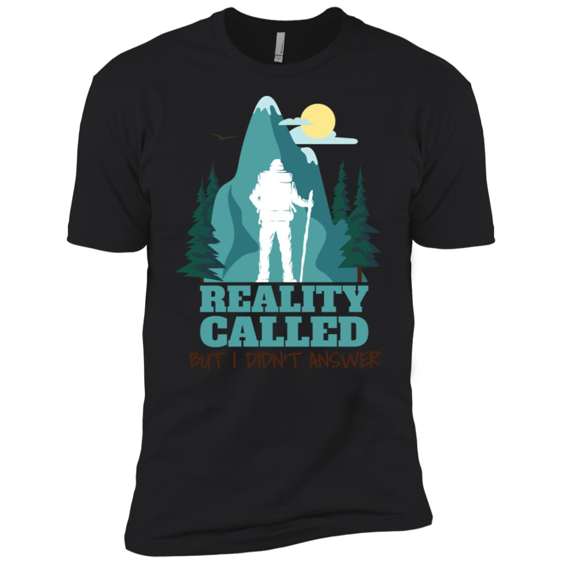 Hiking Reality Called But I Didn't Answer Men Short Sleeve T-Shirt