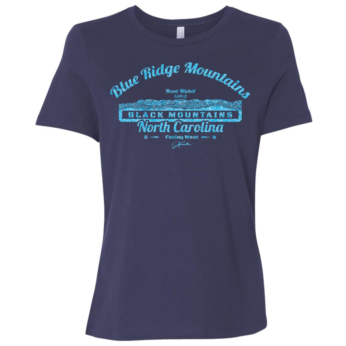 JCombs Mount Mitchell, Blue Ridge Mountains, Nc Women Short Sleeve T-Shirt