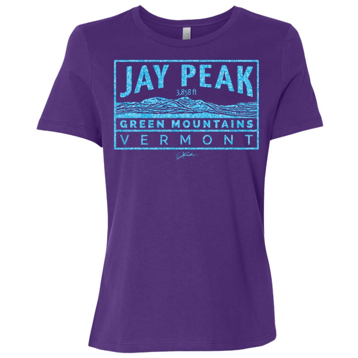 JCombs Jay Peak, Green Mountains, Vt Women Short Sleeve T-Shirt