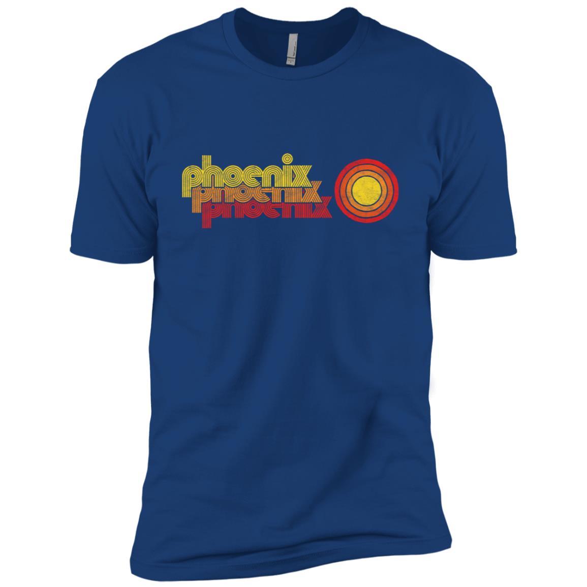 Retro Phoenix Arizona 80's Style Sun Men Short Sleeve T-Shirt