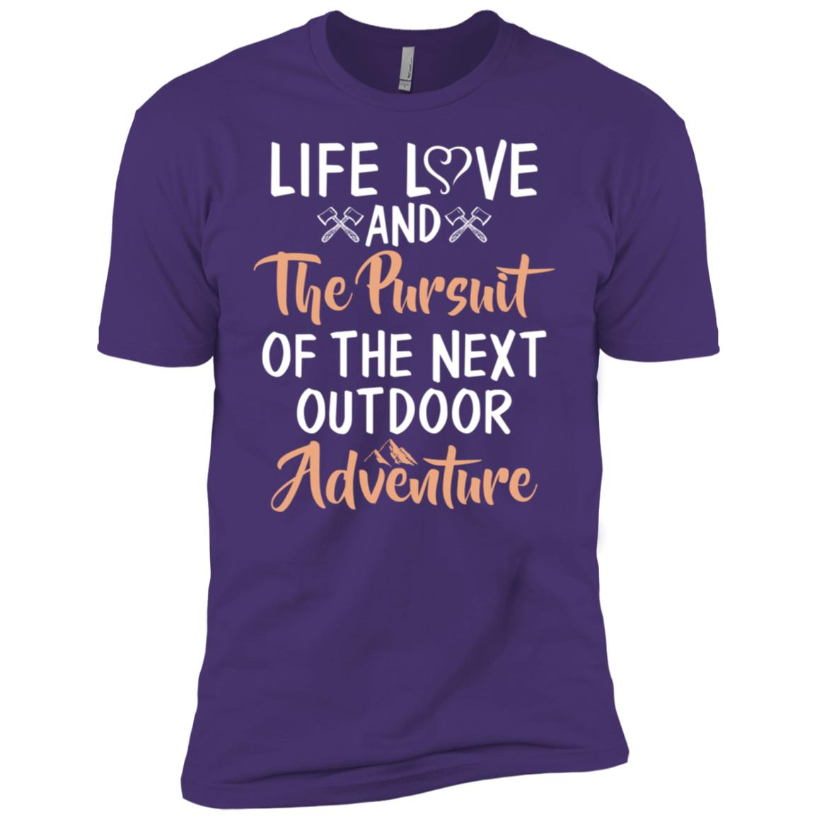 Pursuit Of The Next Outdoor Adventure Men Short Sleeve T-Shirt