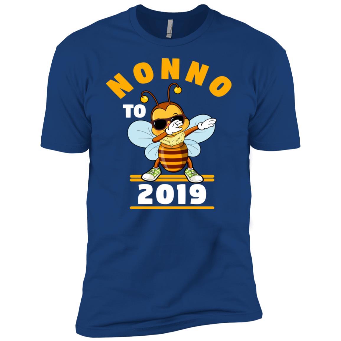 Grandpa To Be 2019 Nonno Dabbing Bee Men Short Sleeve T-Shirt
