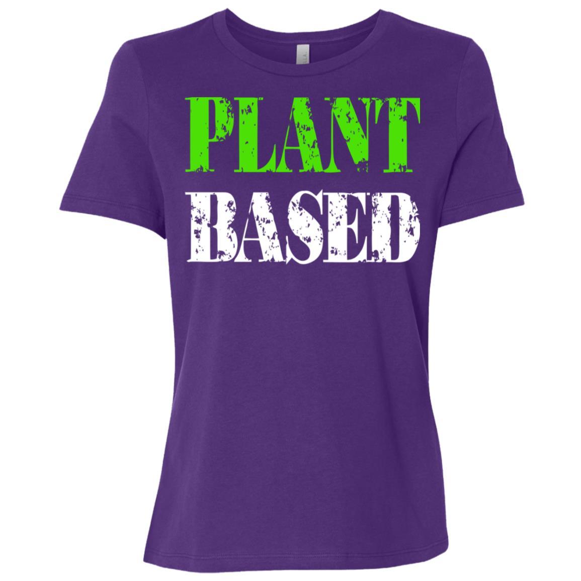 Plant Based Gift For Vegans And Plant Lovers Women Short Sleeve T-Shirt