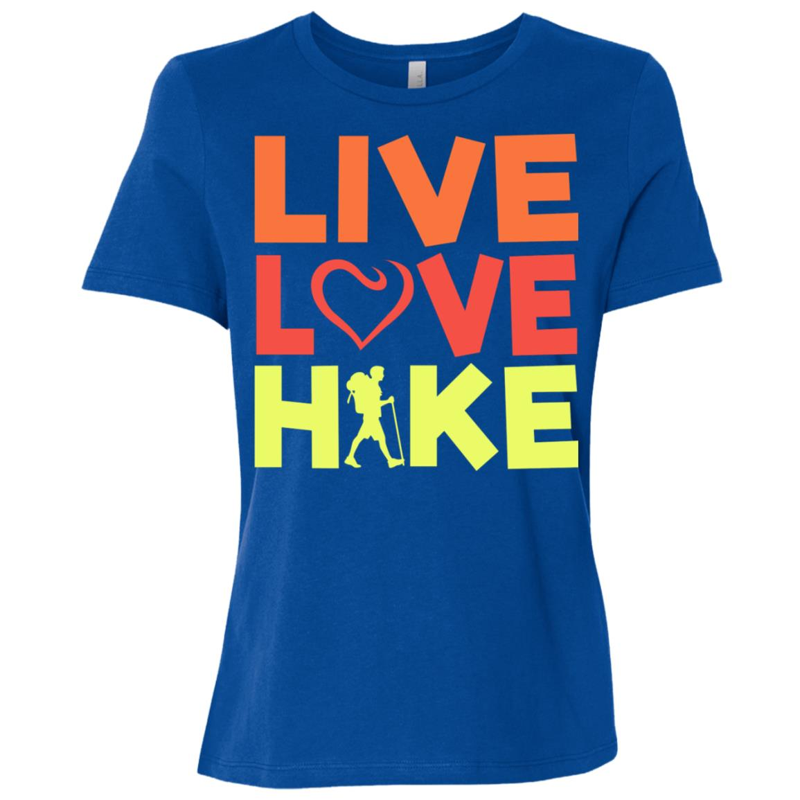 Live Love Hike Women Short Sleeve T-Shirt