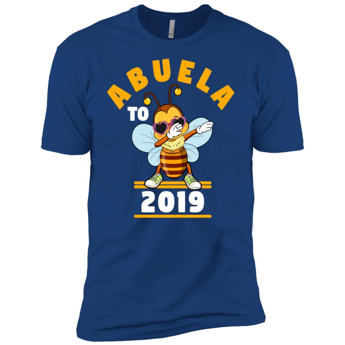 Grandma To Be 2019 Abuela Dabbing Bee Men Short Sleeve T-Shirt