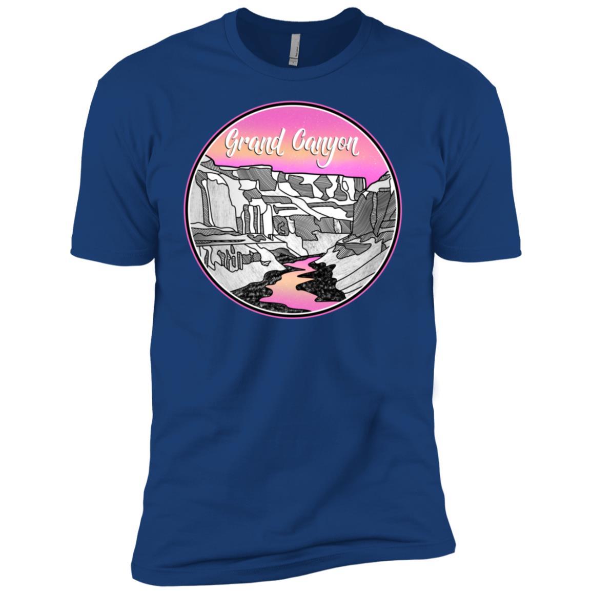 The Grand Canyon landscape Nankoweap Trail Men Short Sleeve T-Shirt