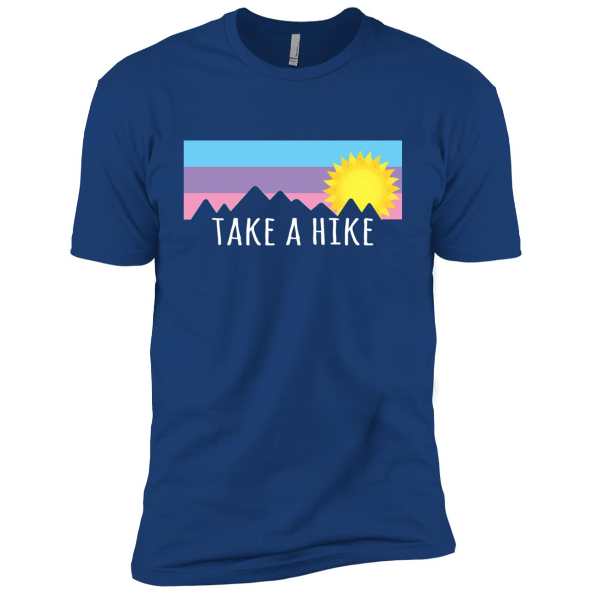 Take a Hike for Hikers and Climbers Men Short Sleeve T-Shirt
