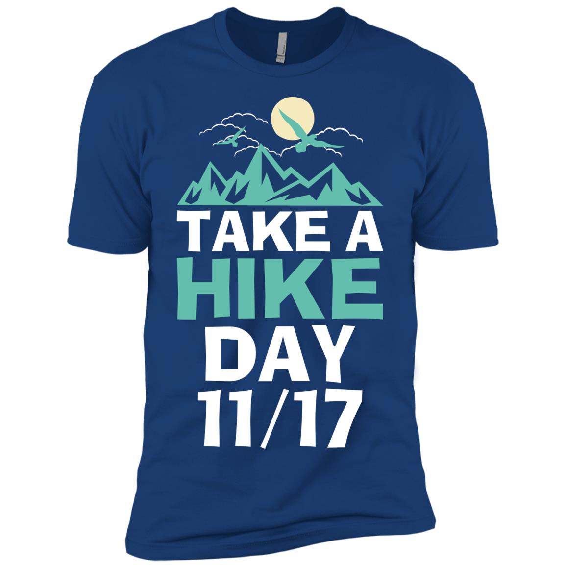 Take A Hike Day Men Short Sleeve T-Shirt
