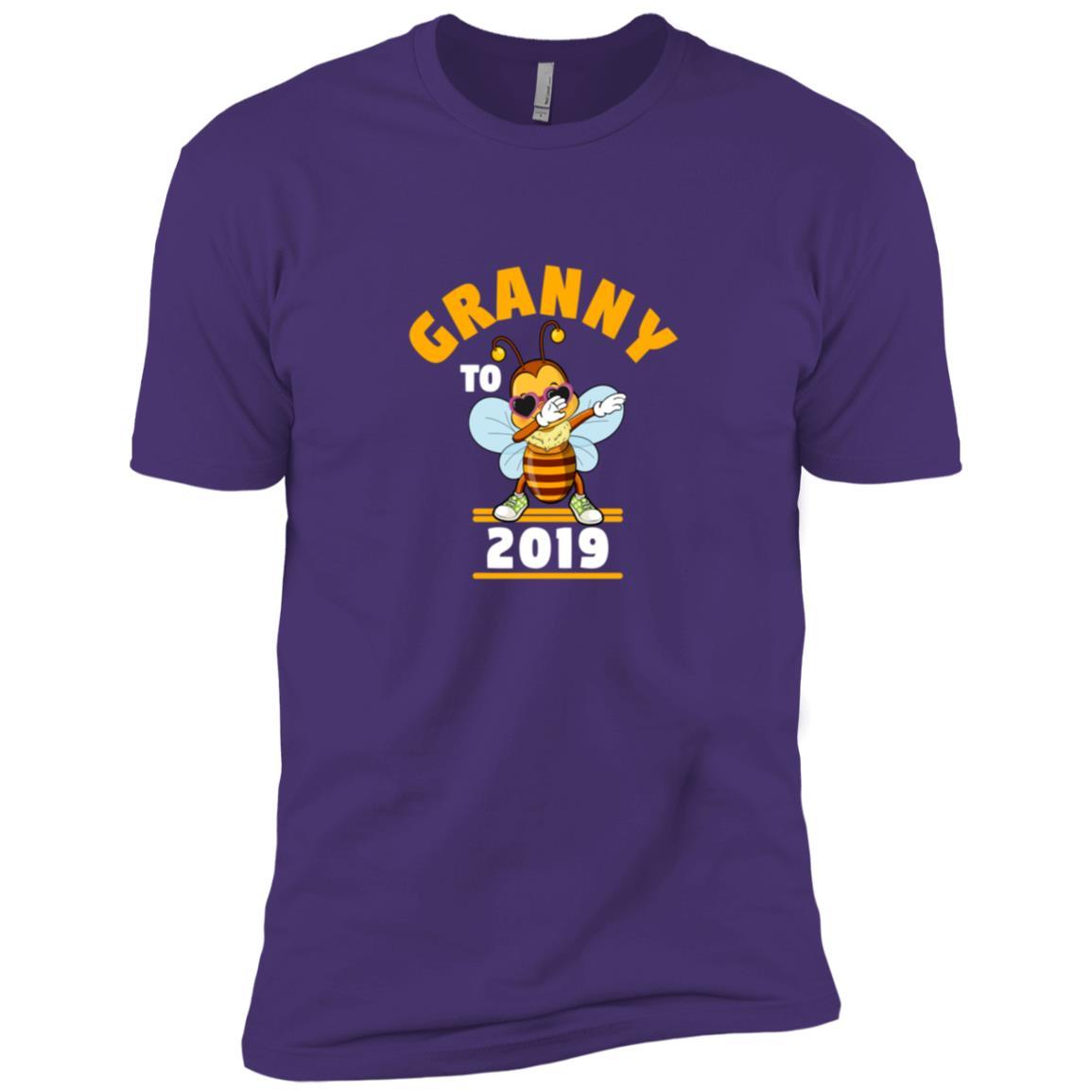 Grandma To Be 2019 Dabbing Bee Men Short Sleeve T-Shirt