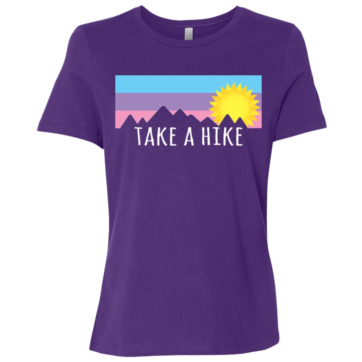 Take a Hike for Hikers and Climbers Women Short Sleeve T-Shirt