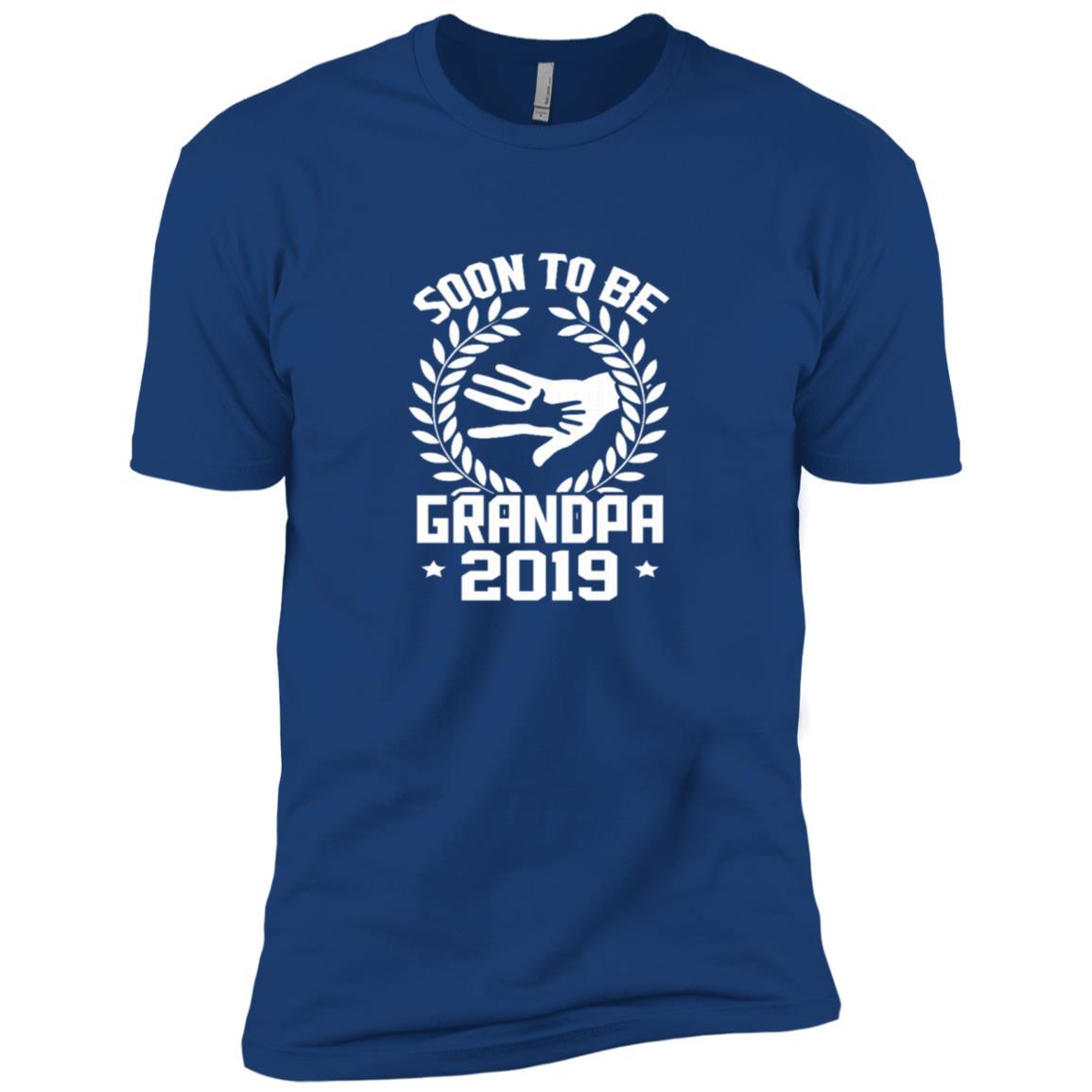 Funny Soon To Be Grandpa New Baby 2019 Men Short Sleeve T-Shirt