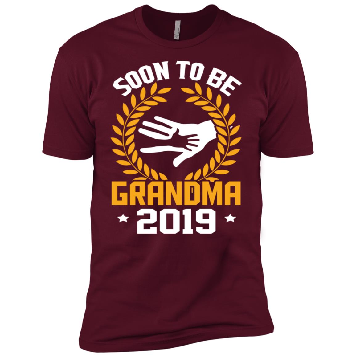 Funny Soon To Be Grandma New Baby 2019 Men Short Sleeve T-Shirt