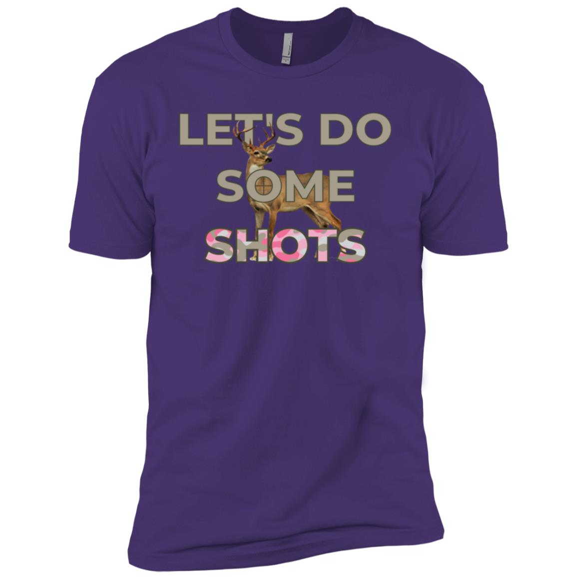 Let's Do Some Shots Deer Hunting Pun Men Short Sleeve T-Shirt