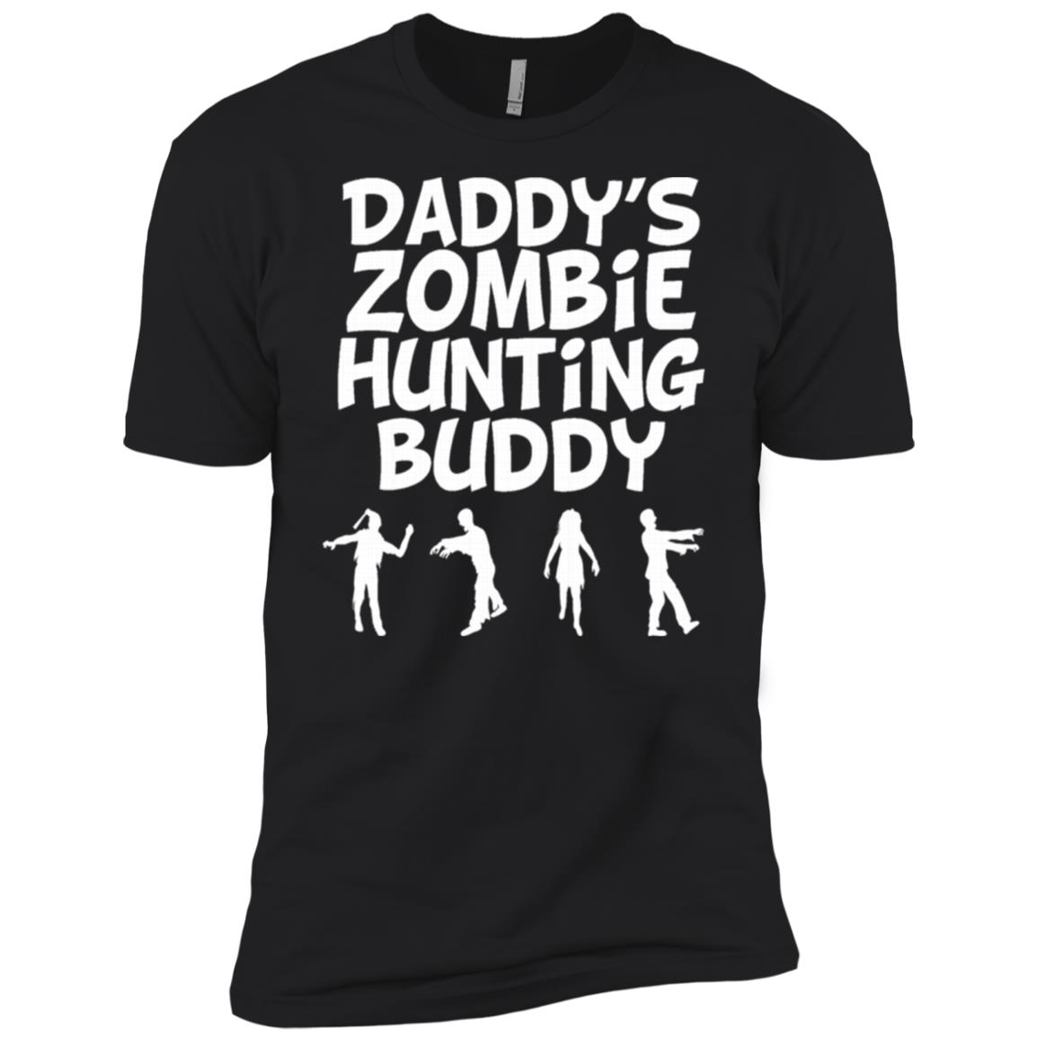 Daddys Zombie Hunting Buddy -Tee for Men Men Short Sleeve T-Shirt
