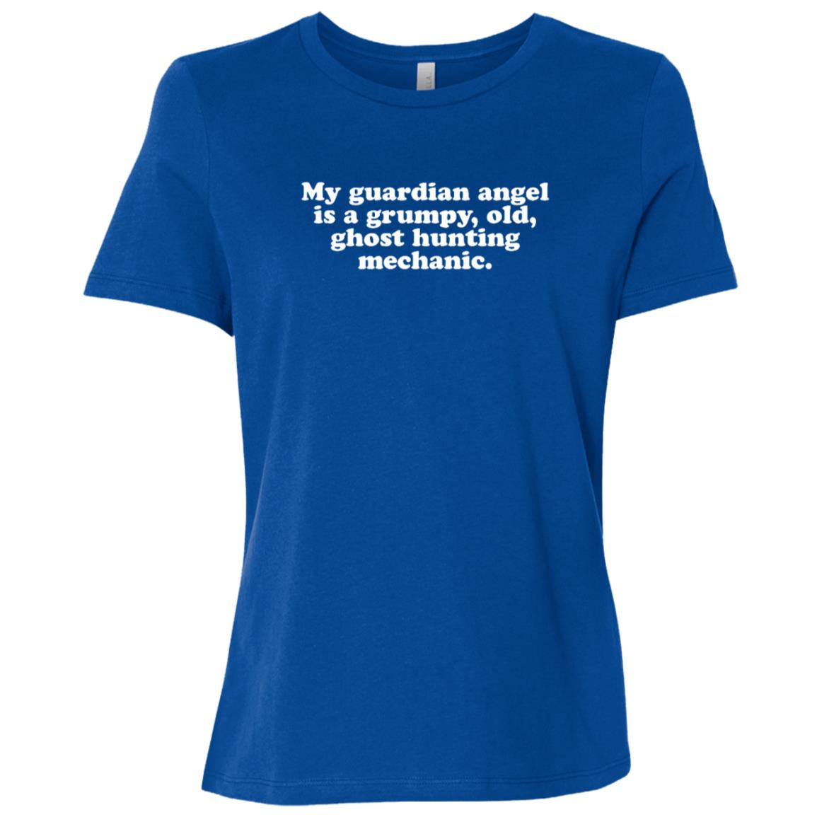 Grumpy Ghost hunter supernatural spirit Women Short Sleeve T-Shirt