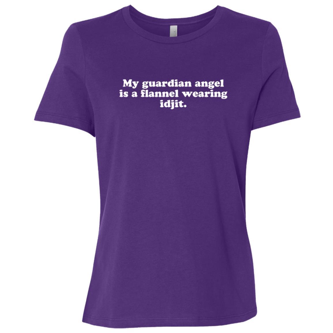 Flannel wearing Idjit supernatural spirit Women Short Sleeve T-Shirt