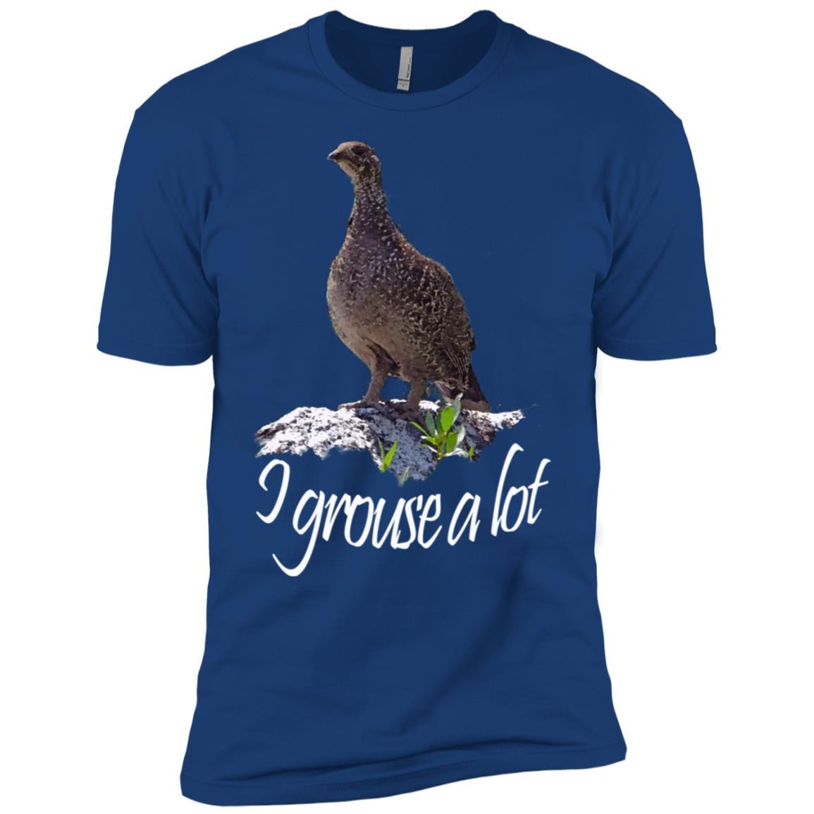 Bird. Grouse. I grouse a lot Men Short Sleeve T-Shirt