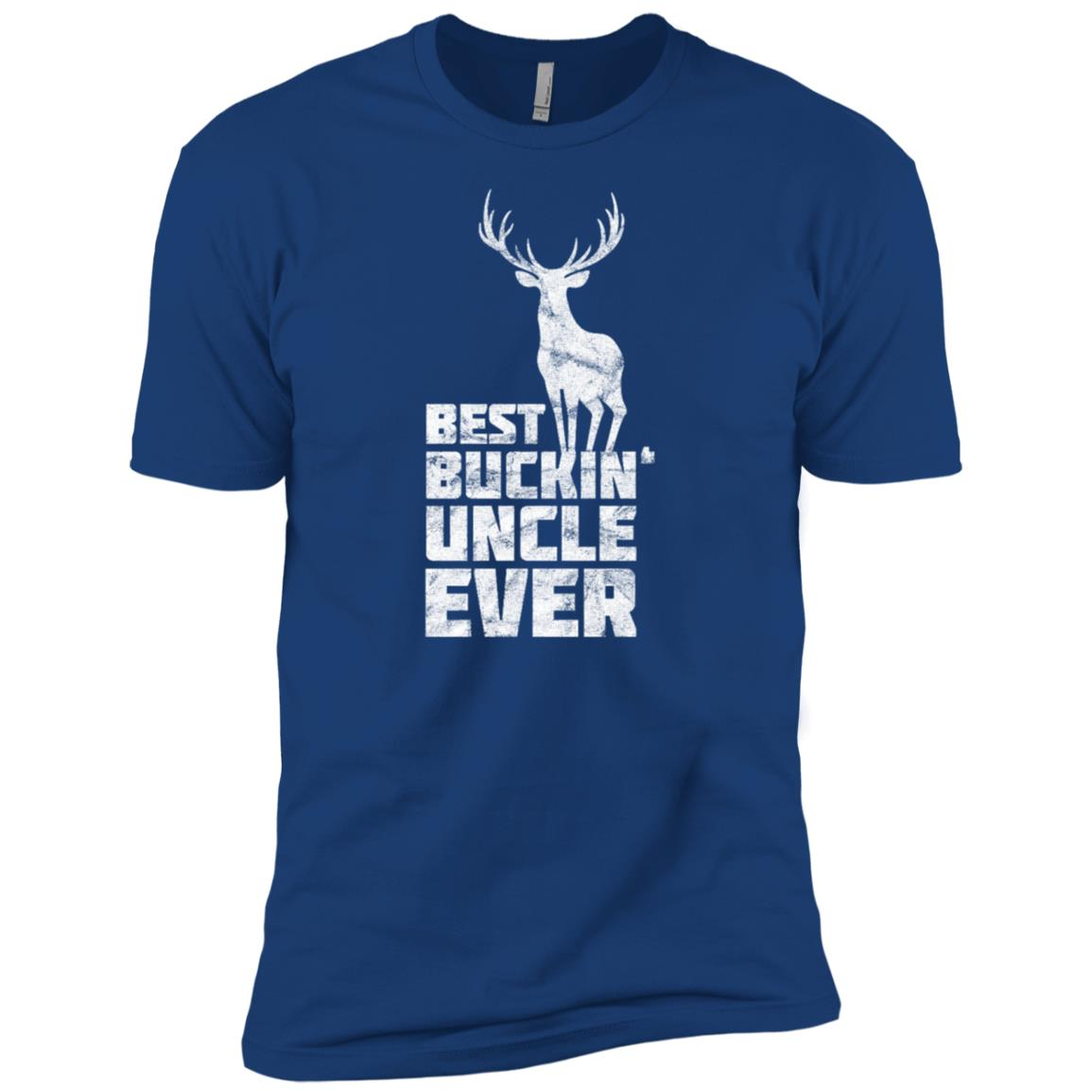 Best Buckin Uncle Deer Buck Hunting Bucking Gift Men Short Sleeve T-Shirt