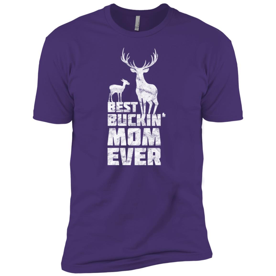 Best Buckin Mom Deer Buck Hunting Bucking Mother Gift Men Short Sleeve T-Shirt