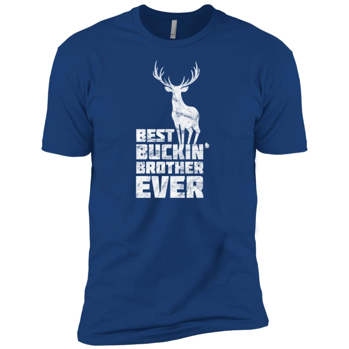 Best Buckin Brother Deer Buck Hunting Bucking Gift Men Short Sleeve T-Shirt