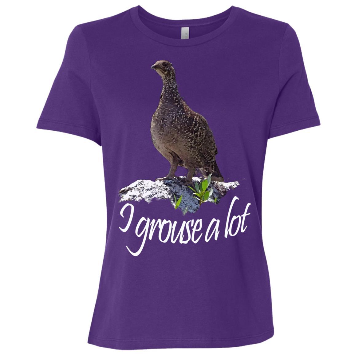 Bird. Grouse. I grouse a lot Women Short Sleeve T-Shirt