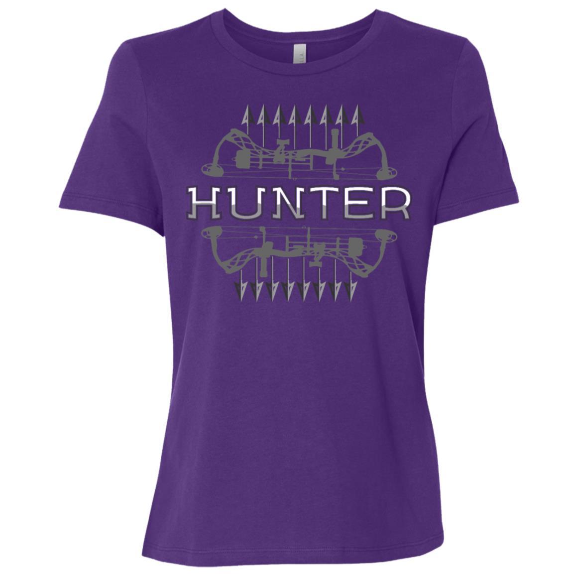 American Deer Hunting Bow Hunter Buckwear Women Short Sleeve T-Shirt