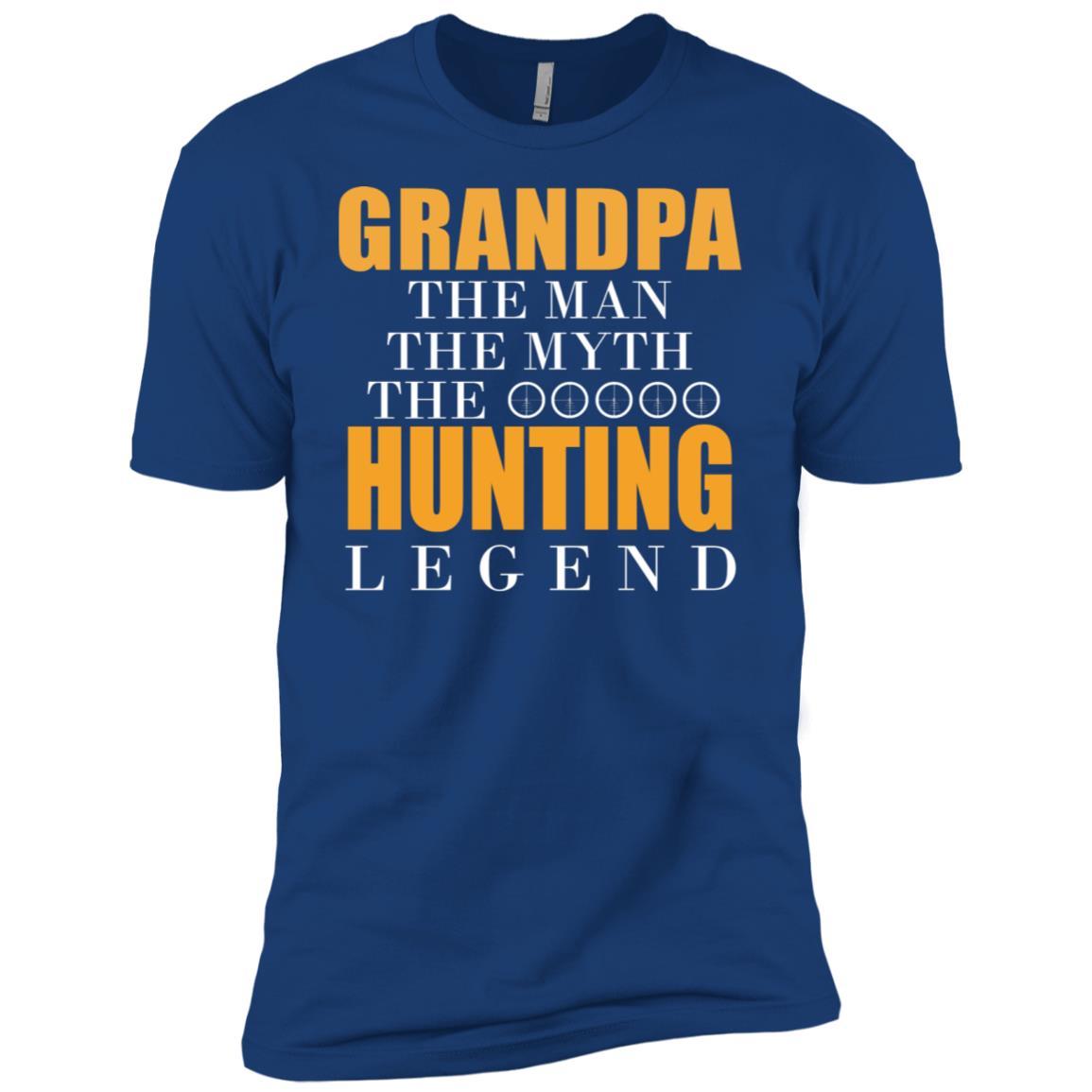 Funny Hunting Quote Deer Outdoor Hobbies Men Short Sleeve T-Shirt