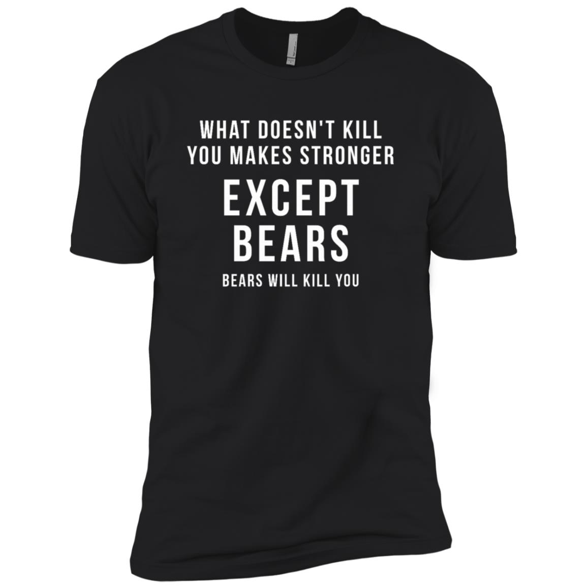 Funny Hunting Gift – What doesn't kill you Men Short Sleeve T-Shirt