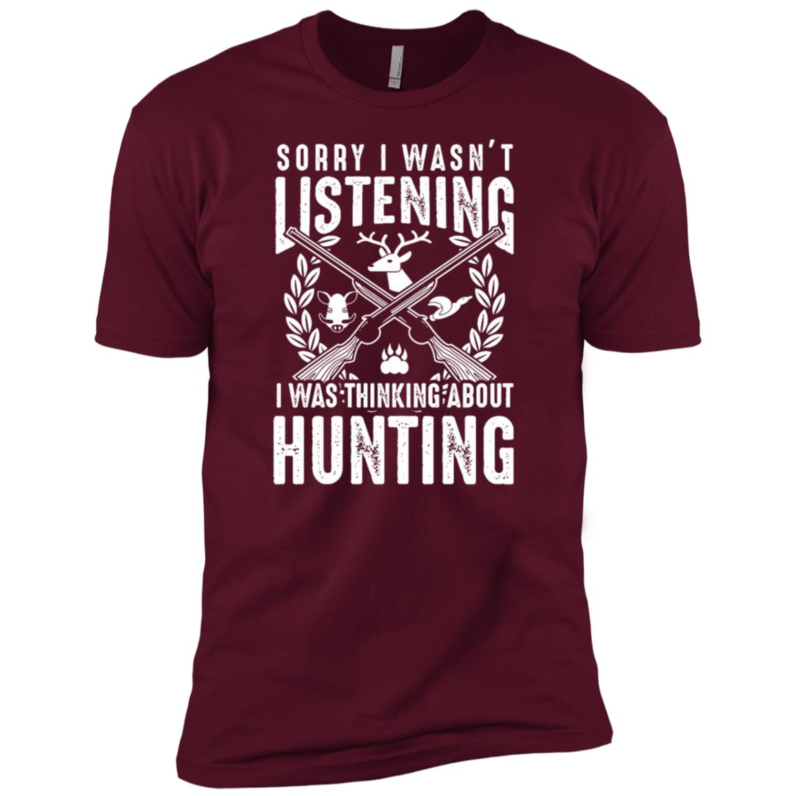 Funny Hunting Gift for Bow and Rifle Deer Hunters Men Short Sleeve T-Shirt