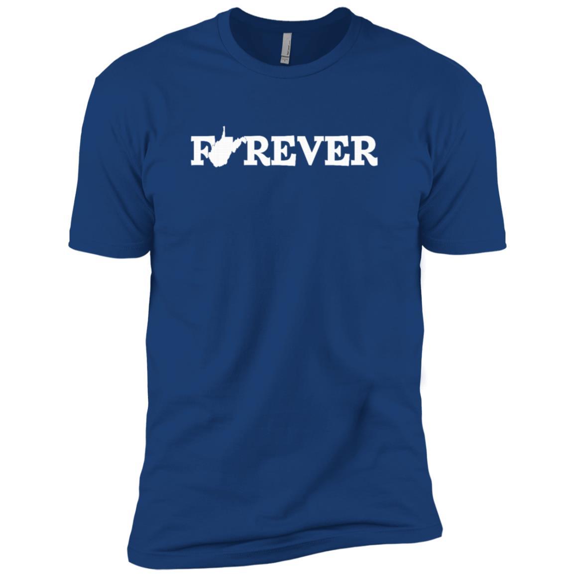 Forever West Virginia-1 Men Short Sleeve T-Shirt