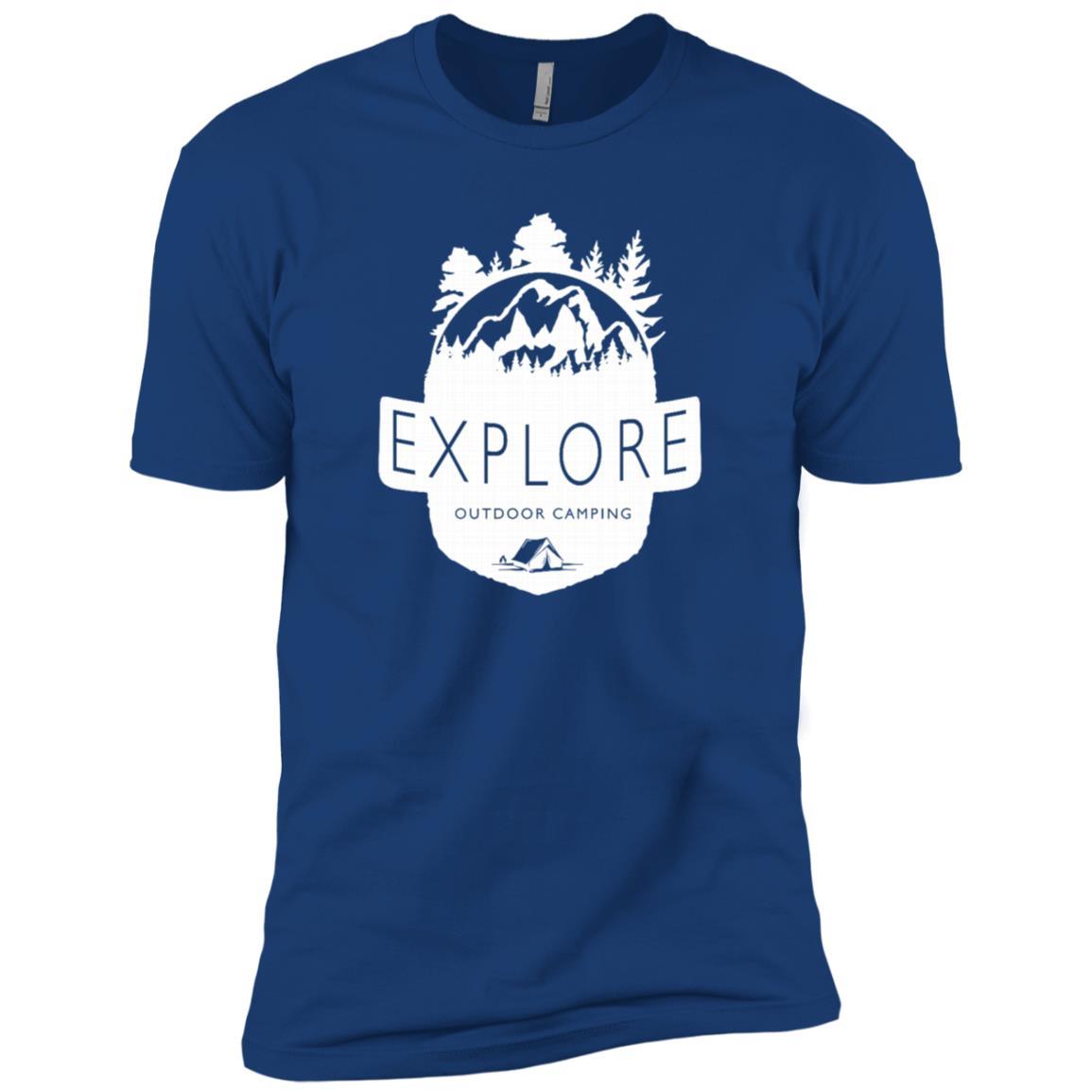 Explore Outdoor Camping – Hunting Outdoor Men Short Sleeve T-Shirt