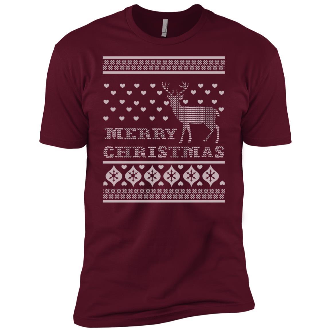 Deer Ugly Christmas Perfect unisex gift Men Short Sleeve T-Shirt