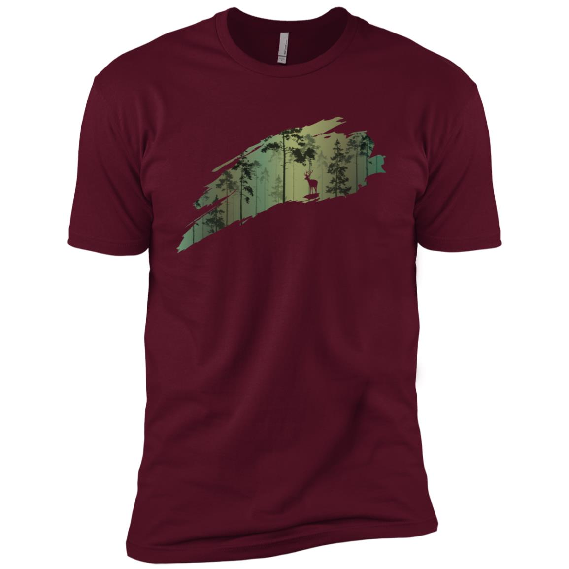 Deer Hunting Men Short Sleeve T-Shirt