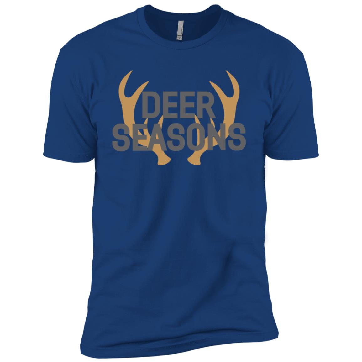 Deer Hunting Season-1 Men Short Sleeve T-Shirt