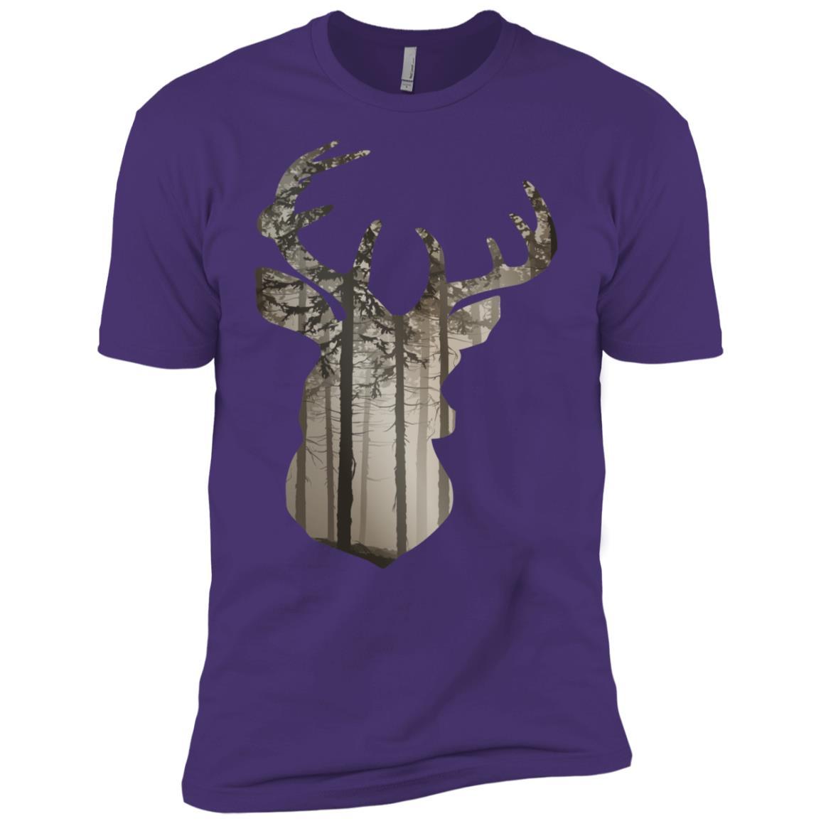Deer Hunting Buck Men Short Sleeve T-Shirt
