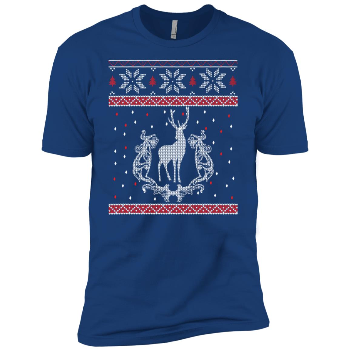 Deer Hunter Ugly Sweatshirt Hunter Christmas Gift Men Short Sleeve T-Shirt