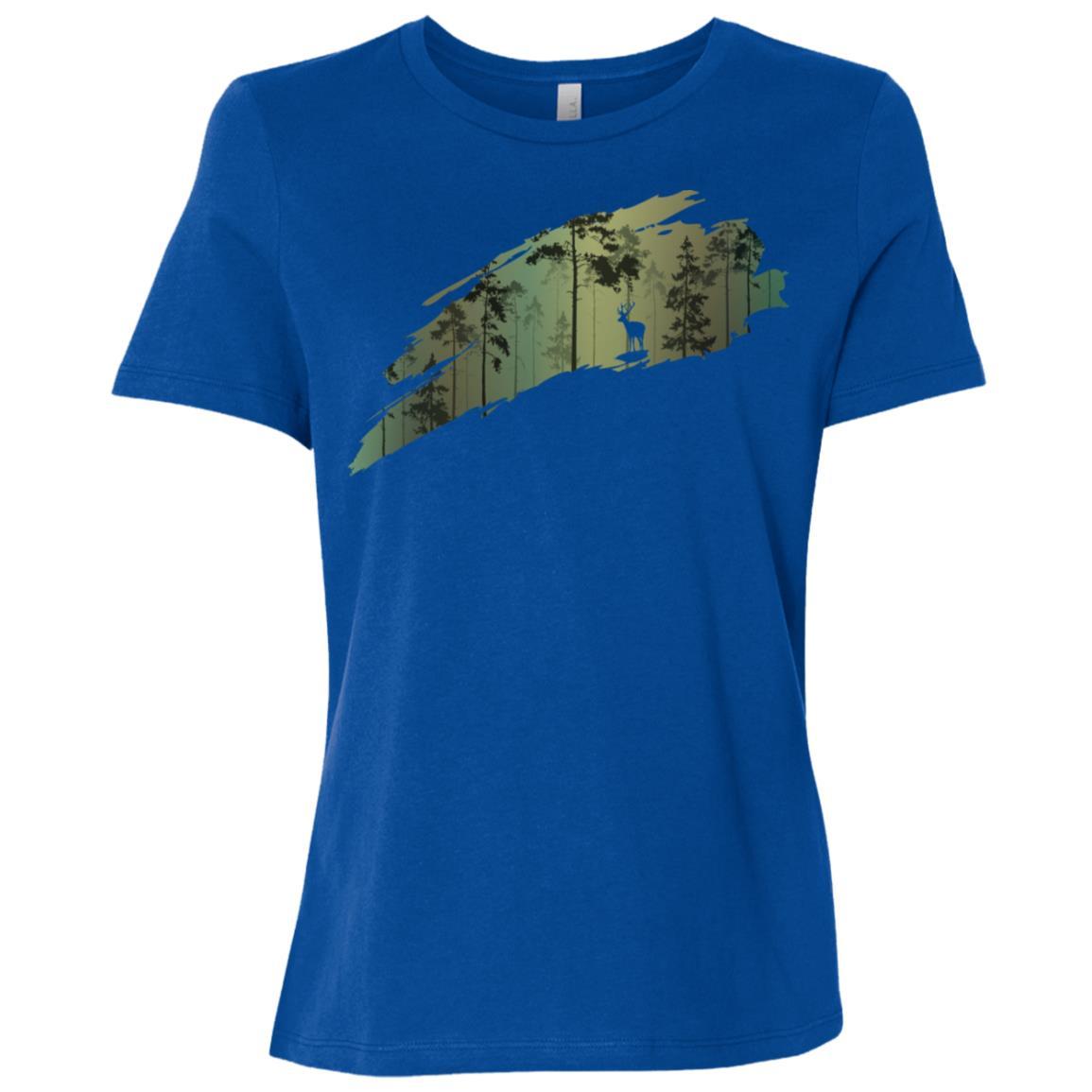 Deer Hunting Women Short Sleeve T-Shirt
