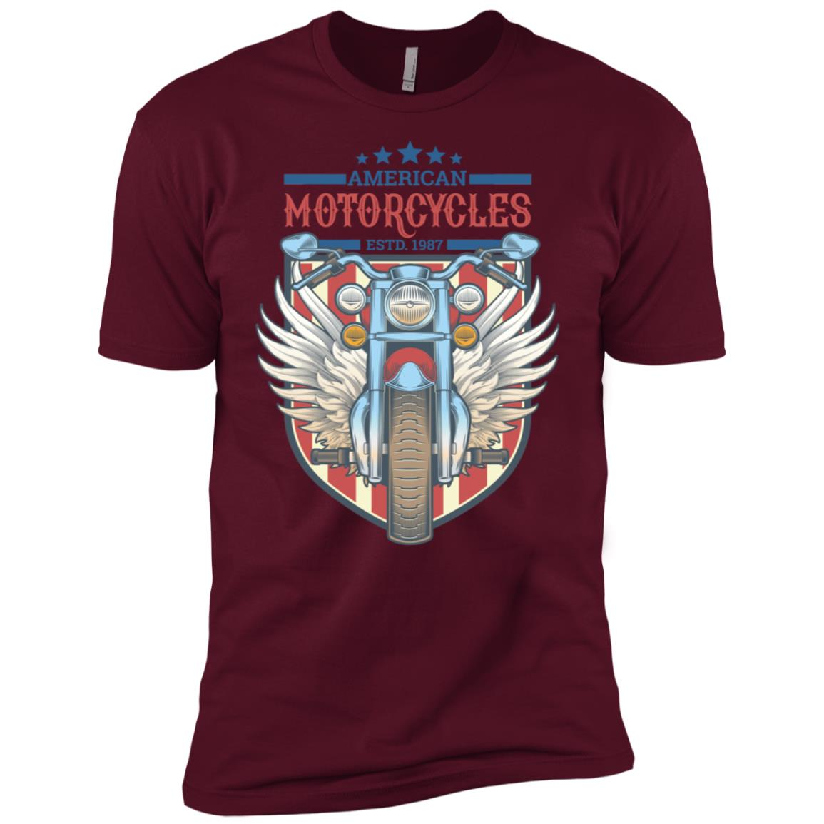 American Motorcycles Vintage Special Men Short Sleeve T-Shirt