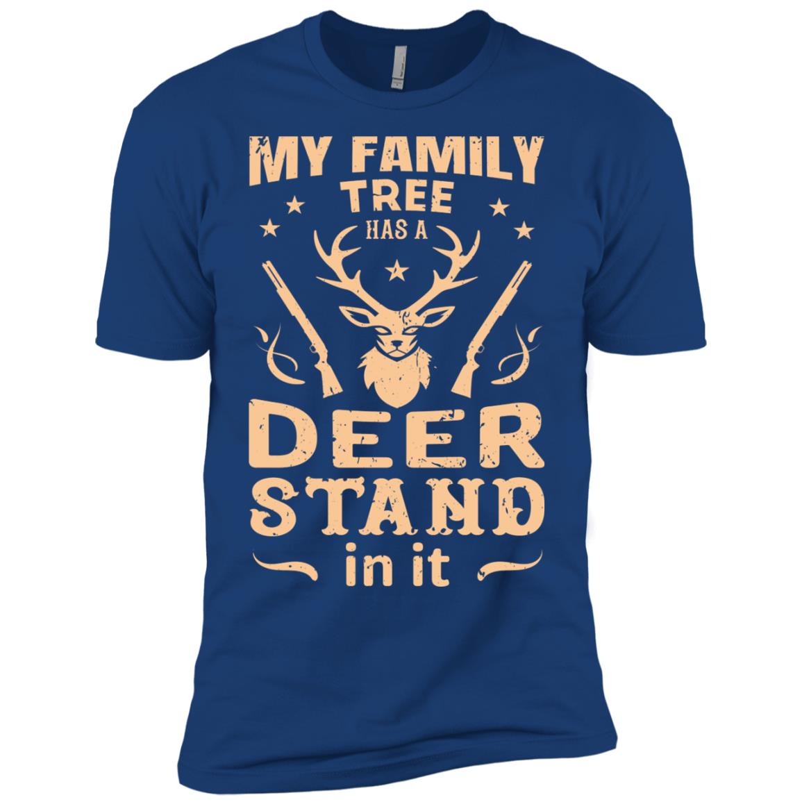 Funny Rifle Deer Hunting Gun Hunter Gift Men Short Sleeve T-Shirt
