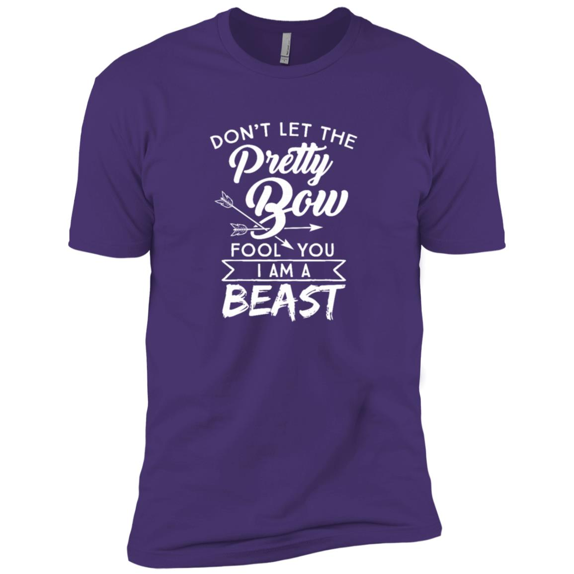 Funny Archery Girls I'm A Beast Bow Hunting Gift Men Short Sleeve T-Shirt