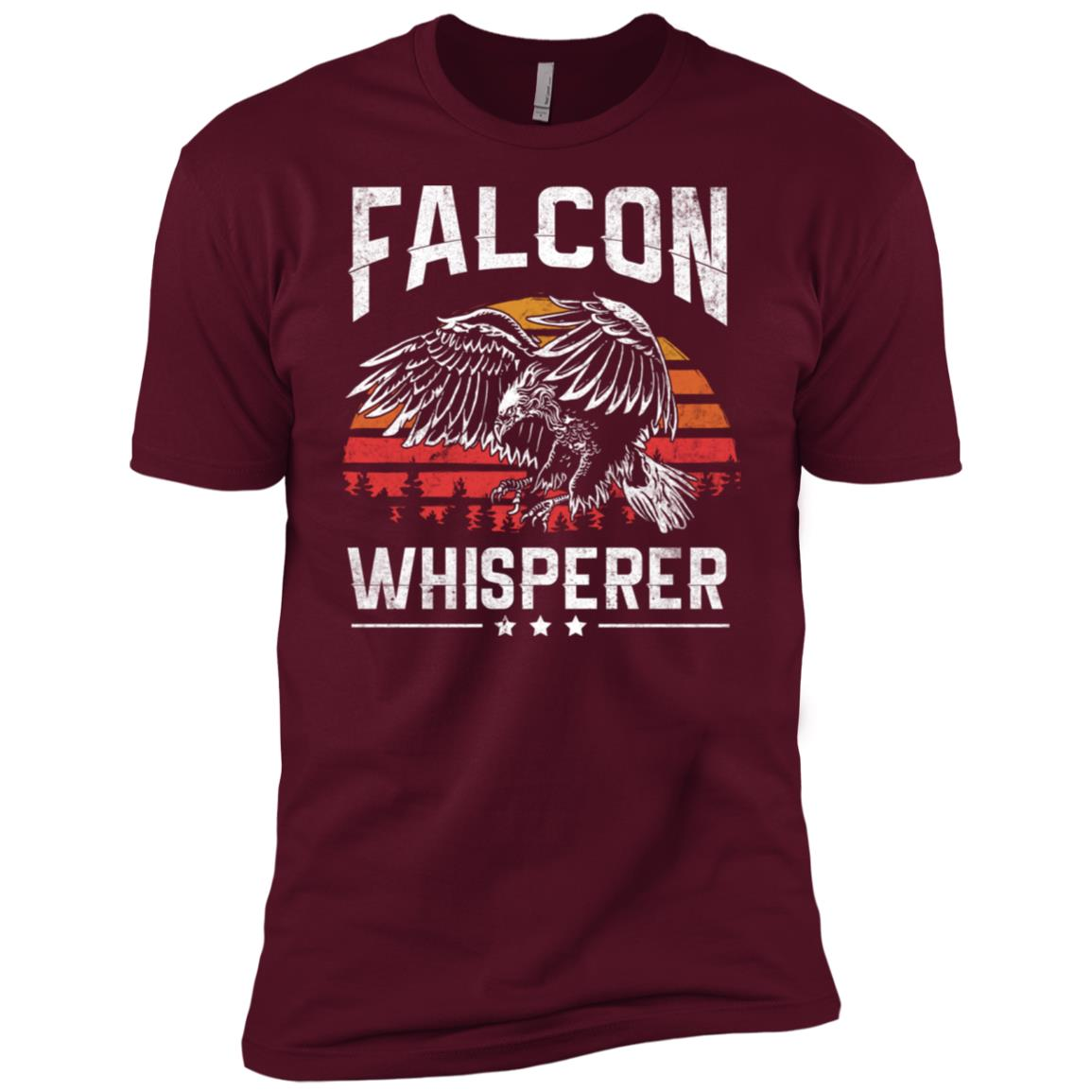 Falcon Whisperer Falconry Hunting Gift For Hunter Men Short Sleeve T-Shirt