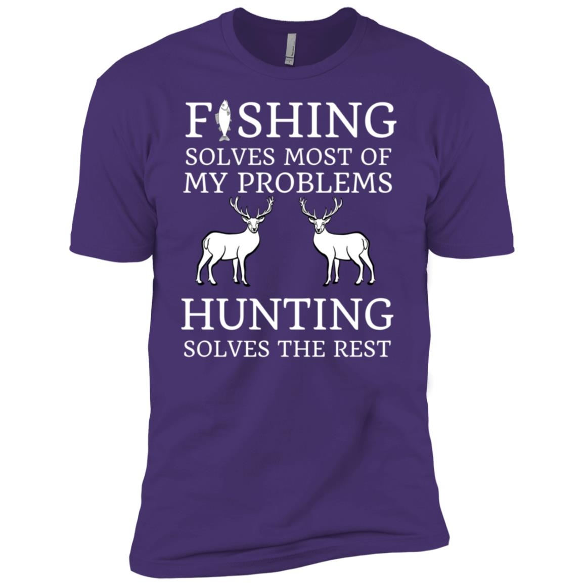 Fishing & Hunting Gifts For Hunters Men Short Sleeve T-Shirt
