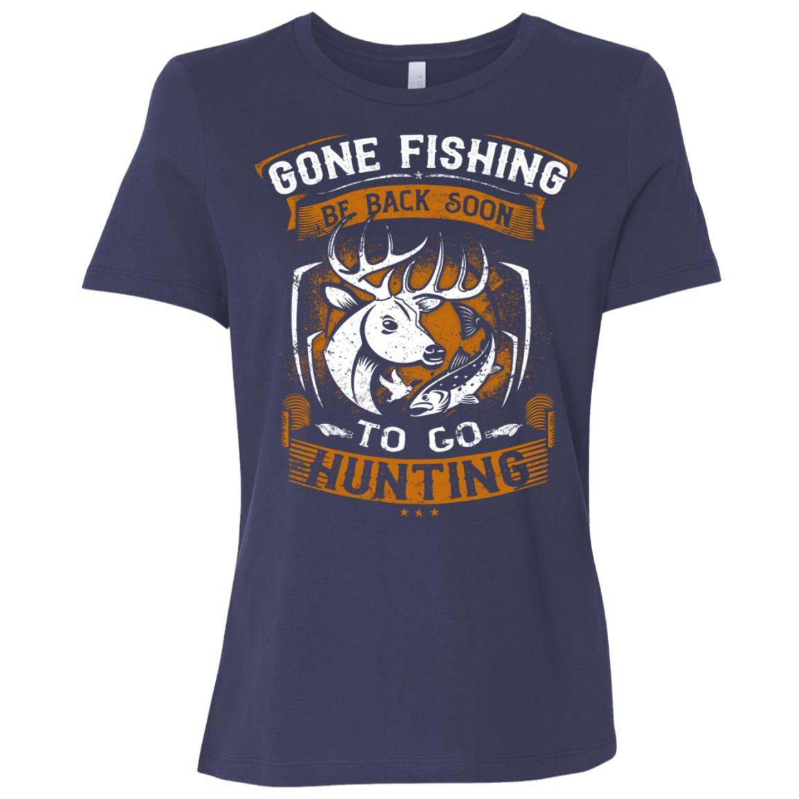 Funny Fishing Hunting Gift for Hunters-1 Women Short Sleeve T-Shirt
