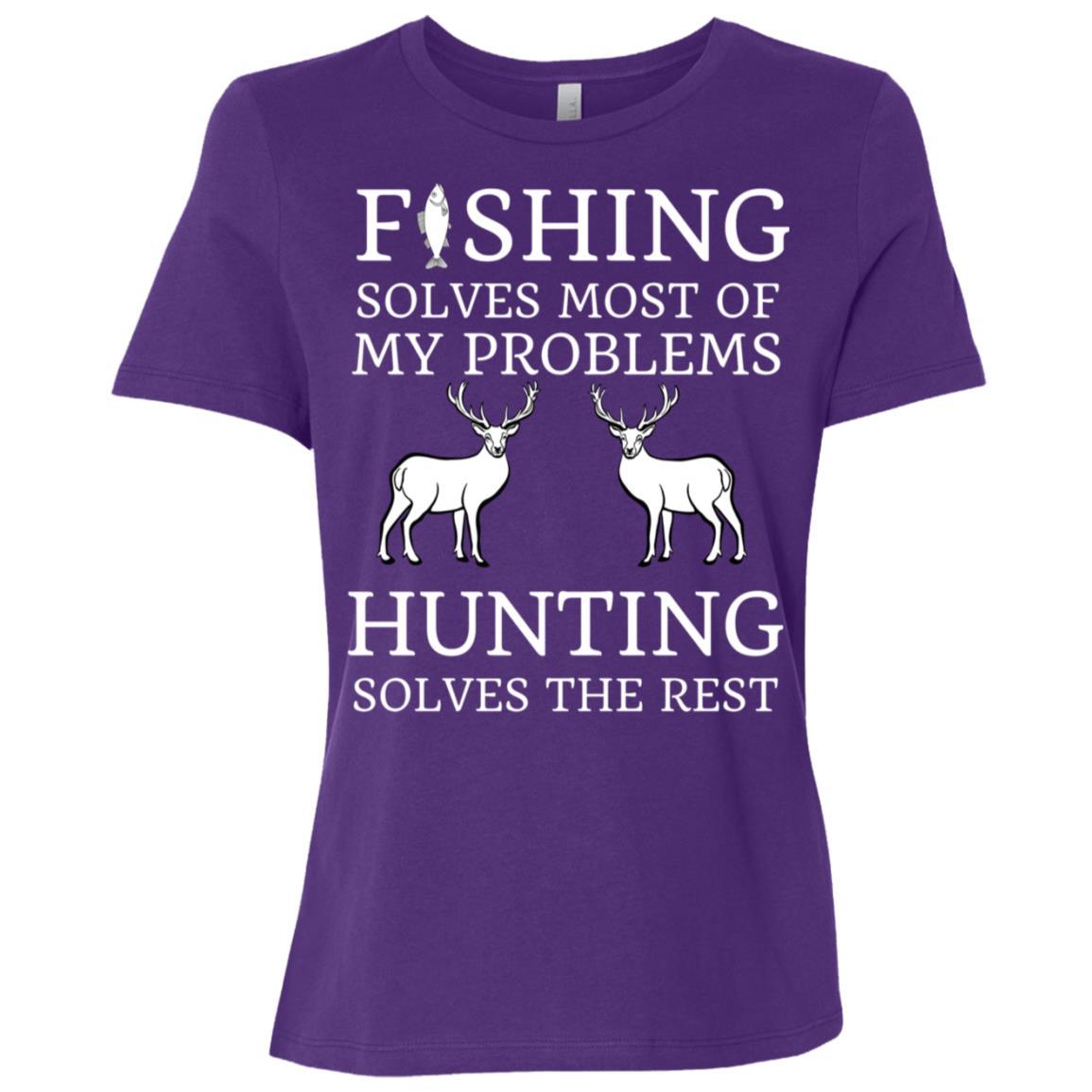 Fishing & Hunting Gifts For Hunters Women Short Sleeve T-Shirt