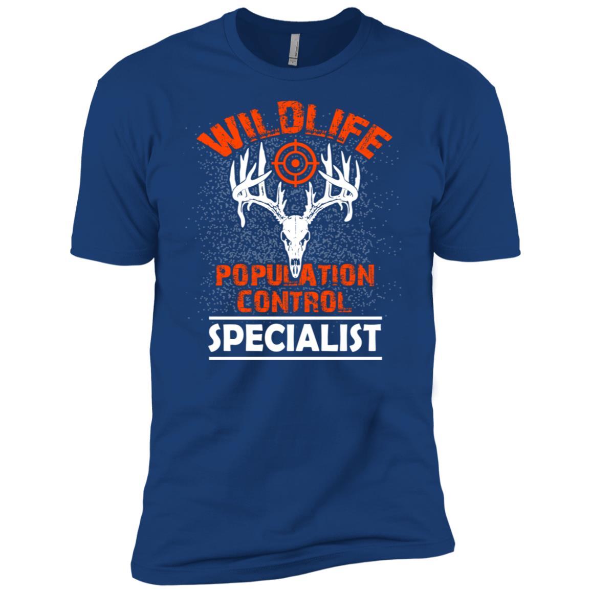Wildlife Population control specialist for a hunter Men Short Sleeve T-Shirt