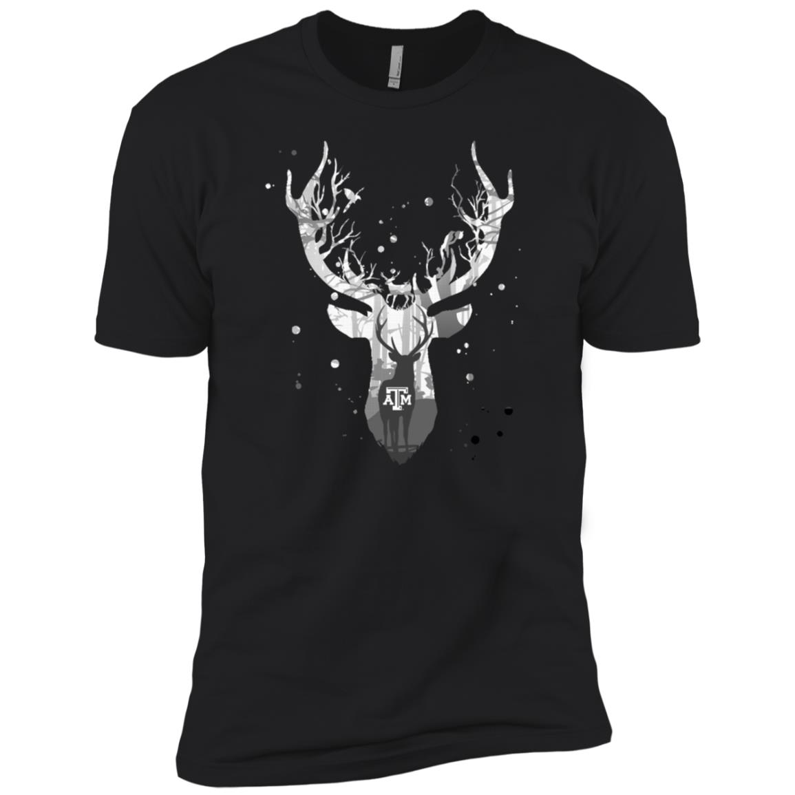 Texas A&m Aggies Hunting – Deer Inside Men Short Sleeve T-Shirt